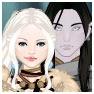 Humana y elfo