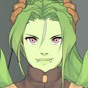 Viste a una chica dragón para que crees tus personajes de fantasía medieval en este juego de vestir.