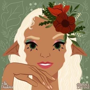 Una app para crear tu propio avatar con tema de fantasia que te permite personalizar el rostro de una chica mujer chava o rostro femenino.