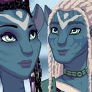 Viste a una pareja de aliens Navi