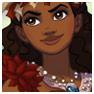 Moana la Princesa de Polinesia