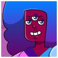 Viste a Garnet de Steven Universe